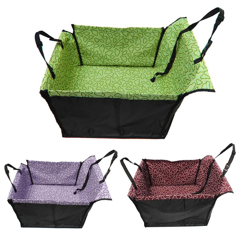 Waterproof Single Dog Seat Cover Pet Rear Carrier Mat Blanket Dog Car Seat Back Protector Safe Dog Accessories Hammock 4