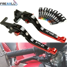 For Honda VF750S SABRE 1982 1983 1984 1985 1986 Motorbike Levers Motorcycle Brake Clutch Levers Foldable Extendable Adjustable