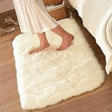 50*80cm carpet floor bath mat Suede Super comfortable non-slip bath mats Free Shipping