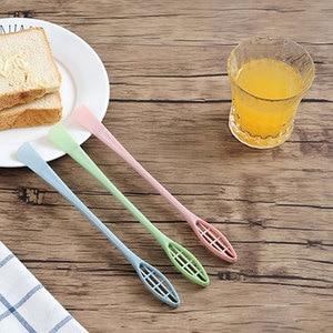 New Egg Stirring Stick, 1 Pcs Eggs Maker Stick Home Baking Mini Cream Stuffer Mixer Spatula Kitchen Tool