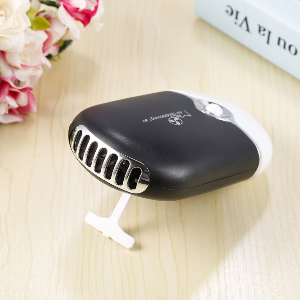 Portable Easy Operating Convenient Rechargeable Portable Mini Handheld Air Conditioning Cooling Fan USB Cooler Practical Gift броши sokolov 740153 s