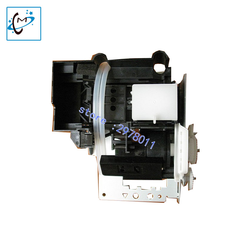 wholesale!Original new Large format printer Mutoh VJ1604 VJ1624 VJ1300 RJ900 ink pump assembly eco solvent with DX5 cap top sale mutoh vj1604 mainfold mutoh vj1604 printer head cap adapter for mutoh vj1604 solvent ink printer