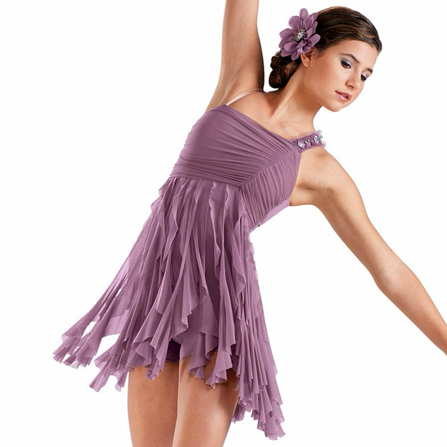Show details for Ballet Dress For Children/Adult Latin Dress For Dance 125-175 CM  Fantasias Infantis De Menina Body Danza Bambina JDQ10008