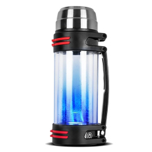 Synteam Hydrogen Water Bottle Sport Outdoor Travel PEM Membrane Portable Hydrogen Generator Alkaline Water Ionizer Maker H2