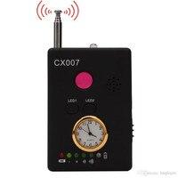 CX007 del Multi-función de Cámara de la Señal de RF Del Teléfono GSM GPS WiFi Bug Spy Detector