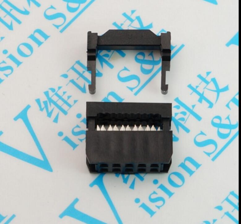 2-Pack 20-Pin Female IDC 2.54mm Pitch Socket Connector CablesOnline FC-020