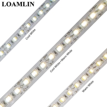 Led Strip 5M 3014 216Leds/m CCT(Color Temperature)Cool white and Warm White Flexible Tape Light DC12V