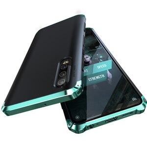 Image 2 - Pancerz aluminiowa metalowa obudowa do Huawei P40 Pro P30 obudowa z twardego plastiku hybrydowa, odporna na wstrząsy obudowa do telefonu Huawei P30 Pro