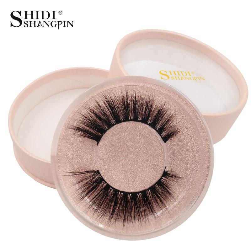 SHIDISHANGPIN 1 Pair Mink Eyelashes False Eyelash 3d Mink Lashes Natural Long False Eyelashes 1cm-1.5cm 1 Box Eyelash Extension