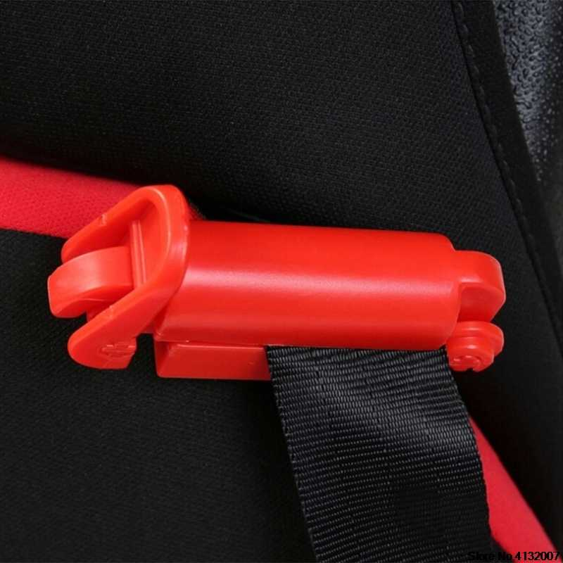 Clipe de cinto de segurança do assento de carro do bebê do miúdo cinto de segurança de segurança de plástico clipe fivela da criança cinta segura bloqueio fixo