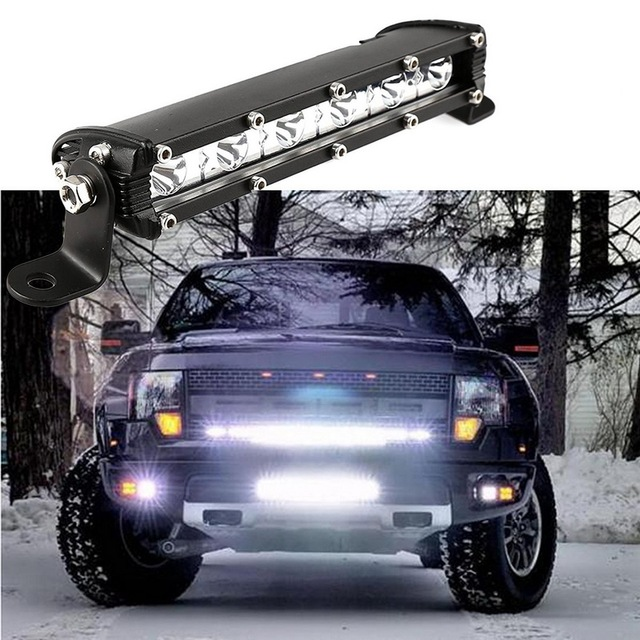 exLED 18W ultrathin LED spotlight Auxiliary car lights for Jeep ...