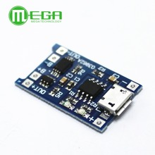 5 шт., зарядная плата для литиевой батареи, 5 В, 1 А, Micro USB 18650, модуль зарядного устройства + Двойная функция защиты