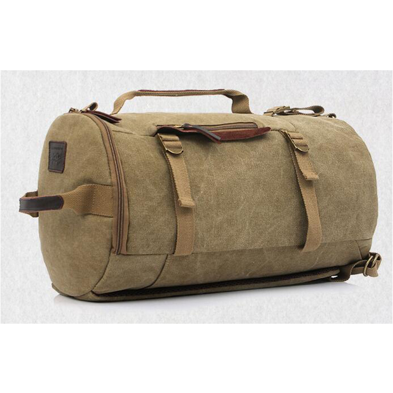 New Vintage Retro Canvas Bags Rucksack School Duffle Shoulder Bag Holdall Uk Baok Bdf6 In Totes From Luggage On Aliexpress Alibaba Group