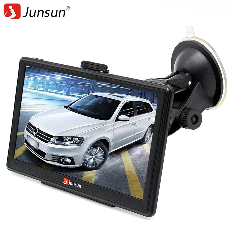 Junsun 7 inch Car GPS Navigation Bluetooth AVIN FM 8GB 256MB Capacitive Screen Sat Nav Free