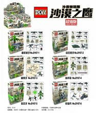 Wholesale Doll d167 Desert Eagle Special team Minifigures with weapons toys Building Blocks Bricks Compatible with Lego