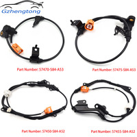 Gzhengtong 4pcs Lot ABS Wheel Speed Sensor All Position For HONDA ACCORD Mk VII CG CK