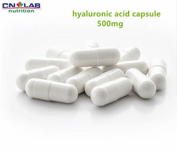 Средней молекулярной Гиалуроновой кислоты капсулы 500 мг * 100 шт. для пищевой/косметический класс/медицины класс