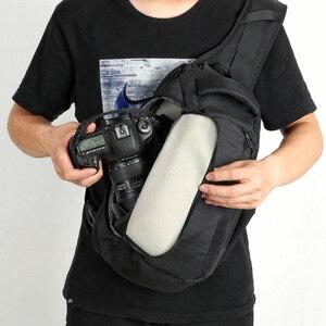 Image 3 - Сумка чехол NOVAGEAR 80611 для DSLR камеры, сумка для фото, наплечный ремень для Canon/Nikon/Sony DSLR камеры s + дождевик