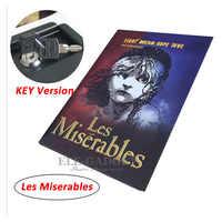 High Quality Secret Book Hidden Security Safe Box Money Jewlery Safe Key Lock Metal Simulation Classic Book Style 222*152*45mm