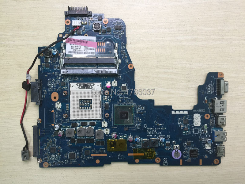Free Shipping K000108590 LA-6832P for Toshiba Satellite A660 A665 series  Laptop Motherboard .All functions 100% fully Tested ! cambridge primary science 1 learner s book