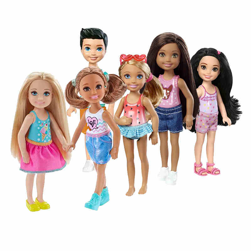 Original Barbie Dream House Mini Baby American Fashion Dolls Travel Cute Kids Toys for Girls Birthday Children Gifts Juguetes