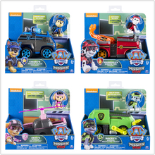 лучшая цена Genuine Paw Patrol toys Jungle Rescue Tracker Chasing Apollo Dogs Brinquedos Paws Patrol Puppy Action Characters Children Gifts