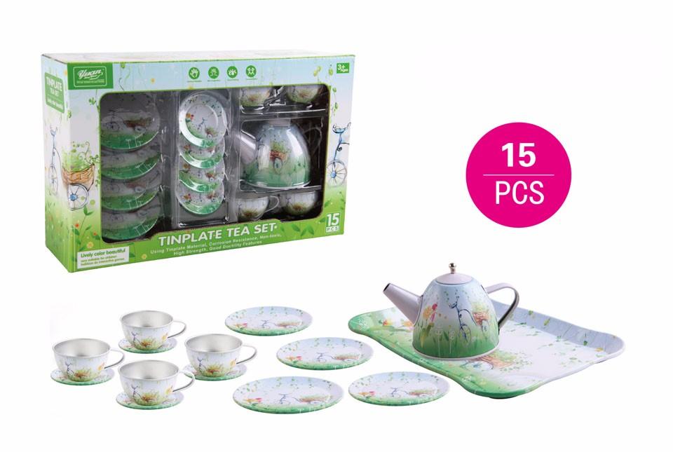6 Green spring set