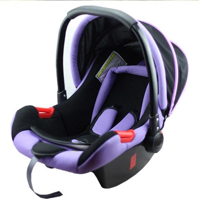 Kinderstoel Baby 0 Maanden.Mode Mand Soort Baby Autozitje Pasgeboren Zuigeling Cradle Auto