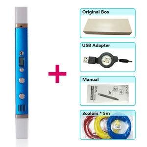 Image 4 - قلم ثلاثي الأبعاد من myriwell قلم ثلاثي الأبعاد ، شاشة LED ، شحن USB ، 3 d pen3d نموذج Smart3d قلم طباعة أفضل هدية لقلم Kidspen 3d 3 d