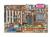MSI P41T-C33 DDR2 775 motherboard luxury solid brass