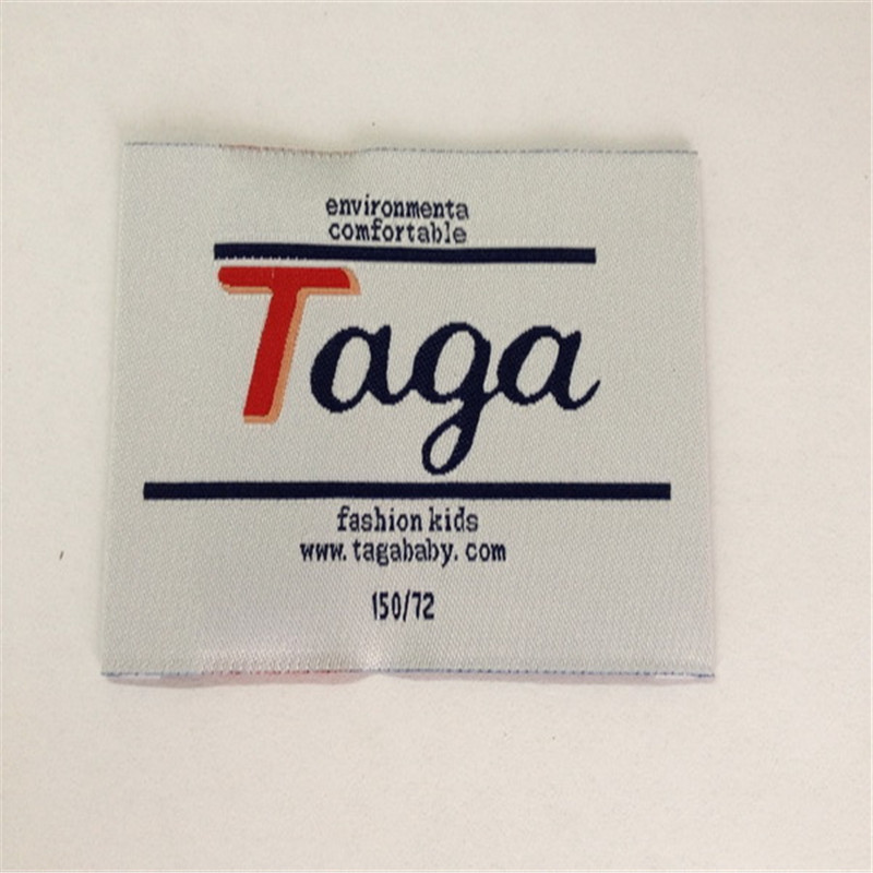 Customized Woven Name Tag Name Label in Garment Labels from Home Garden