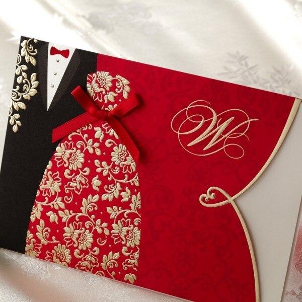 Elegant Creative Wedding Invitations Cards Free Printable Customizable Card