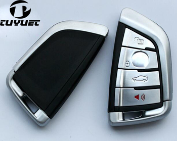 Smart Remote Key Shell 3+1 Buttons For 2014 BMW X5 X6 218i/220i FOB Key Case Blanks