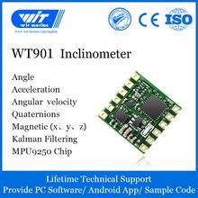 Witmotion wt901 ahrs mpu9250 9 축 가속도계, 3 축 전자 자이로 스코프 + 가속 + 각도 + 자력계, ttl 데이터 출력