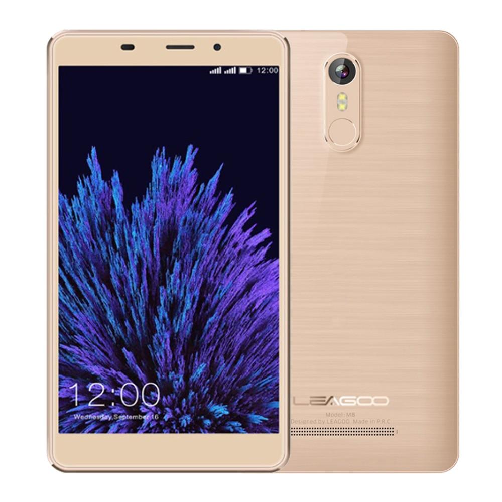 Galleria fotografica Leagoo M8 <font><b>Smartphone</b></font> 5.7 pouce IPS Android 6.0 MT6580A Quad Core 2 GB RAM 16 GB ROM 3500 mAh Batterie 13.0 MP OTA D'empreintes Digitales Téléphone