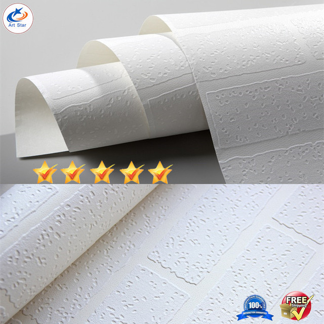 Moderne Antike Weiße Ziegel Tapete Koreanische Kulturellen Eigenschaften  Der Einfachen Stein Ziegel Tapete