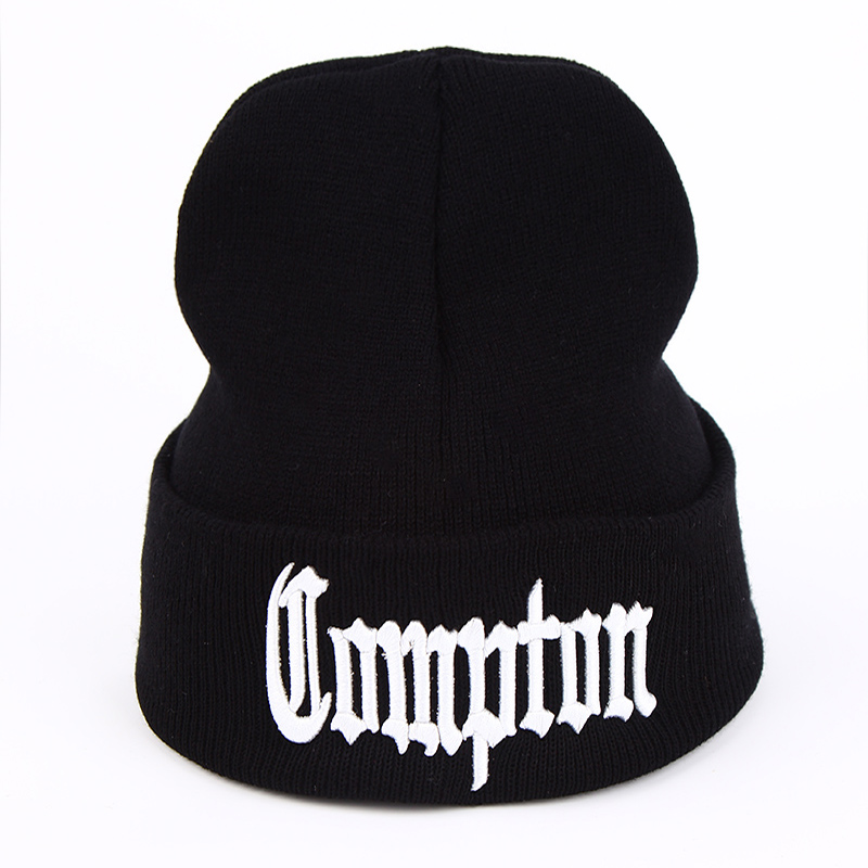 VORON 2017 New West Beach Gangsta Nwa Compton Winter Warm Fashion Beanies Knitted Bonnet Skullies Caps Hip Hop Gorros Knit Hat