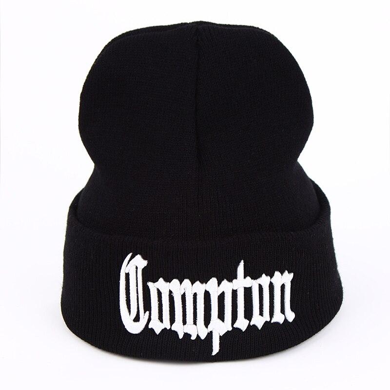 VORON 2017 new West beach gangsta nwa compton winter warm fashion   Beanies   Knitted bonnet   Skullies   Caps Hip hop gorros knit Hat