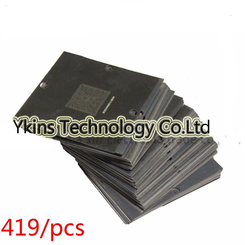 419pcs/set BGA stencil 90*90mm BGA templates BGA Reballing Station For XBOX MTK NV ATI CPU AMD DDR CXD la pastel 3 30 30