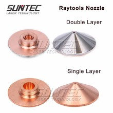 Suntec Laser Single Layer Double Layer Nozzle 0.8-5.0mm high quality for Han's Laser/Precitec/WSX Cutting Head Factory Wholesale single layer mos2