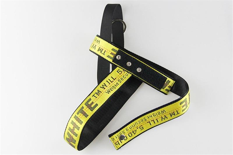 pet dog harness yellow (11)