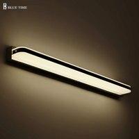 120CM 100CM 60CM Led Bathroom Wall Light Lamps Modern Wall Mounted Bar Decoration Lights AC 110v