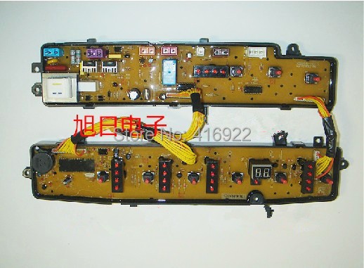 Free shipping 100% tested for Midea for rongshida washing machine circuit board xqb50-801g xqb50-802g computer board on sale оплетка руля kowloon cultural