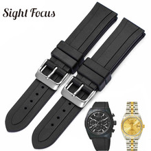 19mm Rubber Sport Watch Band for Tudor Tissot T41 T17 T095 T055 PRC100 Watch Strap Waterproof Belt Montre Orologio Hombres Homen часы tissot t095 417 36 037 00