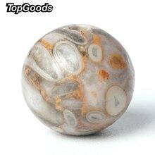 лучшая цена TopGoods Natural Gemstone Beads Maifanite Stone Loose Gem Bead 6/8/10mm 15