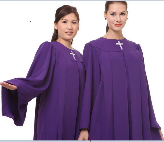High quality and Materials Christian Graduation Gown Clergy Choir ...