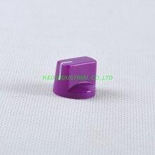 10pcs Colorful Purple Vintage Control Plastic Knob Spline Shaft 18T Potentiometer
