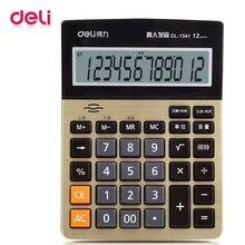 Stationery Calculator Voice-Office Desktop Digital Deli 12 1541A 1pcs Human Hot-Selling