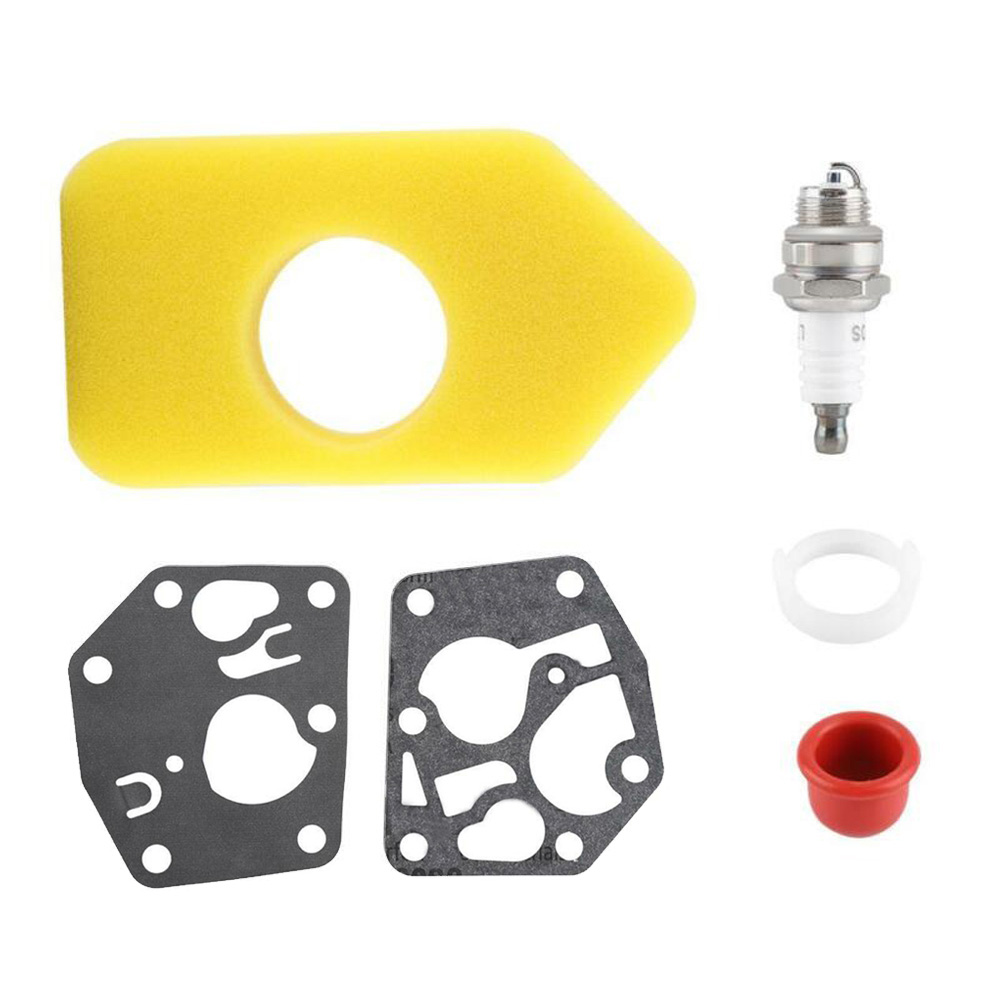Carburetor Diaphragm Gasket Air Filter Kit For <font><b>Briggs</b></font> Stratton 495770 <font><b>795083</b></font> 698369 Power Equipment Accessories Lawnmower Parts image