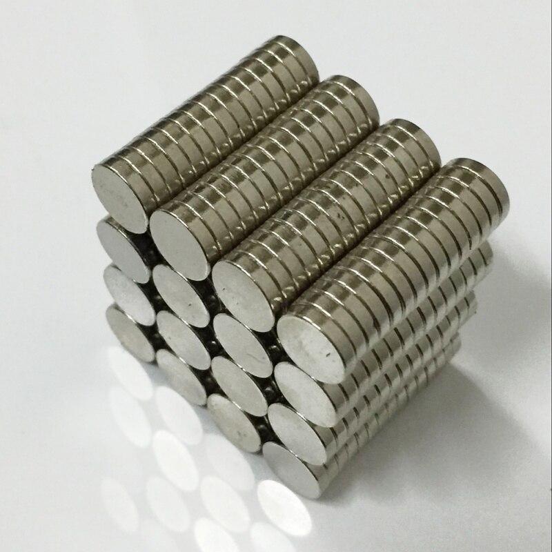 20 pcs D9*2mm Mini Round Neodymium Magnets Rare Earth Strong Grade Craft Fridge Magnetic Materials